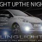 2013 2014 2015 Peugeot 208 Fog Lamp Driving Light Kit Xenon