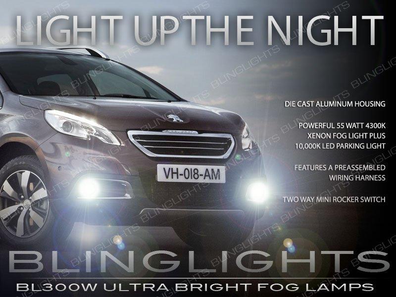 2014 2015 Peugeot 2008 Xenon Fog Lamp Driving Light Kit