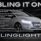 Peugeot 208 LED DRL Head Light Strips Day Time Running Lamp Kit