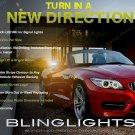 BMW Z4 LED Side View Mirrors Turn Signal Light Blinker Lamp Pair e85 e86 e89 Kit