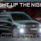 2012 2013 2014 2015 VW Tiguan Fog Lamps Lights Volkswagen