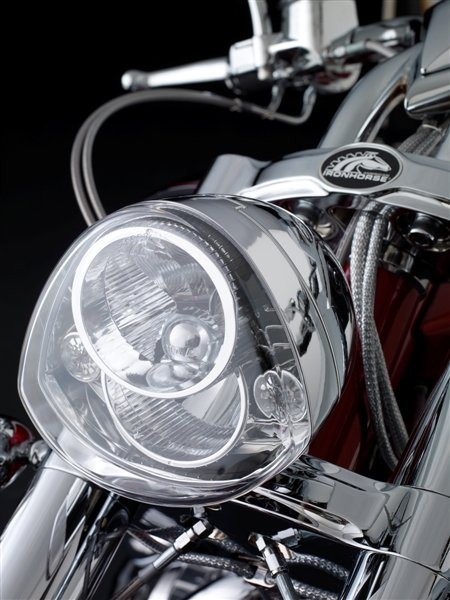 piaa american iron horse custom motorcycle head lamp unit. Black Bedroom Furniture Sets. Home Design Ideas