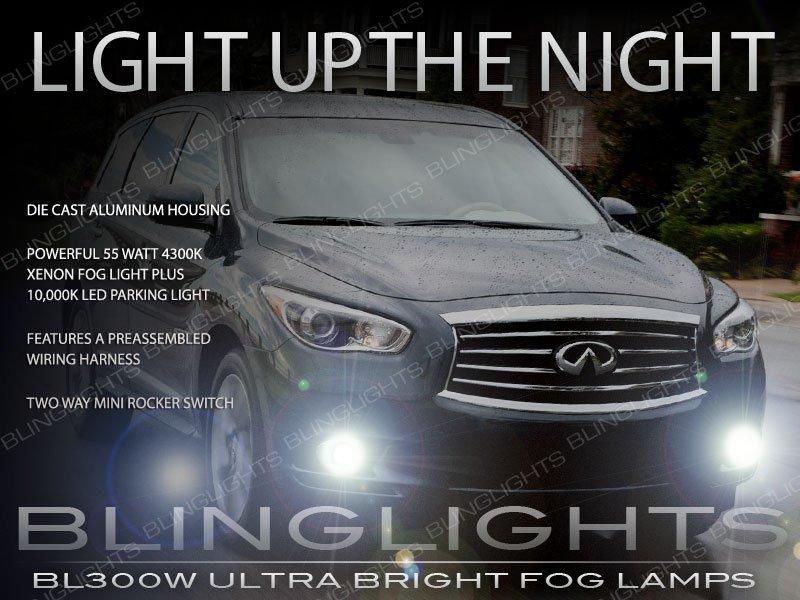 2013 2014 2015 Infiniti JX35 QX60 Xenon Fog Lamps Driving Lights Kit