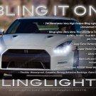 Nissan GT-R LED DRL Head Light Strips Day Time Running Lamp Kit GTR