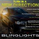Jeep Grand Cherokee LED Side Mirror Turn Signal Lights Blinker Lamp Signalers Add on Kit