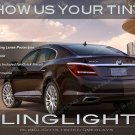 Buick LaCrosse Smoked Tail Light Vinyl Lamp Overlays Kit Tinted Protection Film