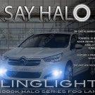 Citroen C4 L Halo Fog Lamp Driving Light Kit Citroën Angel Eyes