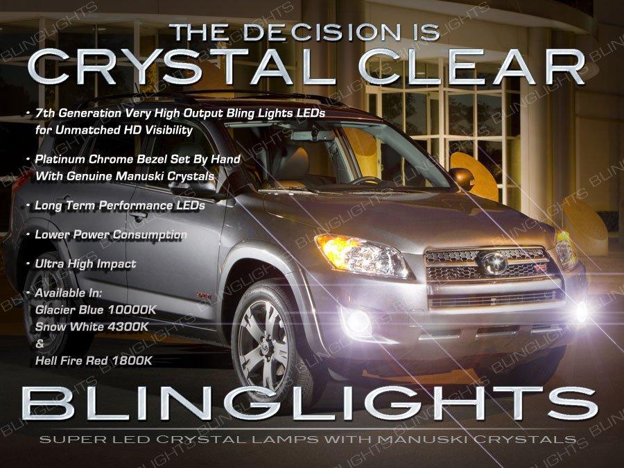 2009-2012 Toyota RAV4 LED Fog Lamps Driving Lights Kit
