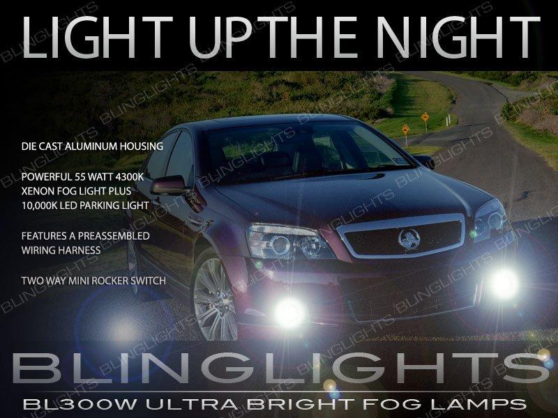 Holden Caprice Xenon Fog Lamps Driving Lights Kit WM WN