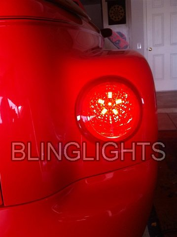 Chevrolet SSR Custom LED Tail Lamps Light Bulbs Pair Upgrade Replacement Chevy Set