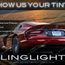 Dodge Viper Tinted Smoked Taillamp Taillight Overlays Kit Protection Film