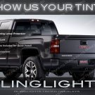 Chevy Silverado Tinted Tail Lamps Lights Overlays Kit Smoked Film Protection Chevrolet