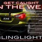 Suzuki SX4 Custom LED Tail Lamp Bulbs Snowflake Lamp Replacement Set