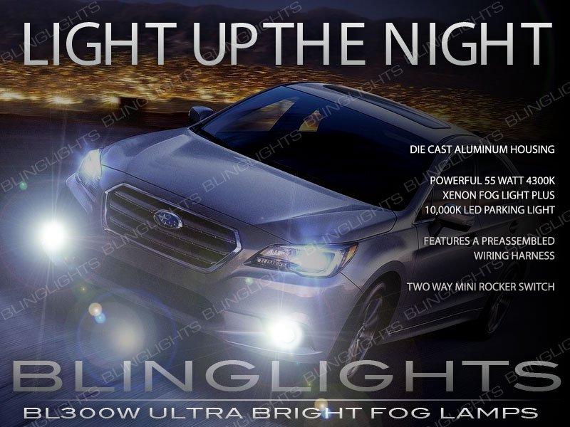 2015 2016 2017 Subaru Legacy Xenon Fog Lamps Driving Lights