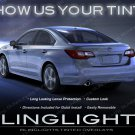 Subaru Legacy Murdered Out Tail Light Tinted Lamp Overlays Lense Film Protection Kit