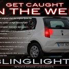 VW Volkswagen up! Tail Lamps Spider White Light Bulbs VW Up Custom Lites set