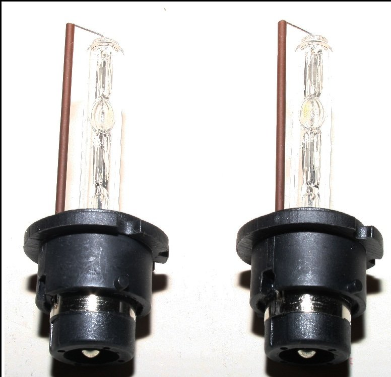 6000K D2S HID Replacement Light Bulbs for OEM Xenon Headlamps Headlights Head Lamps Lights HIDs