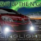 2012 2013 2014 Toyota Belta Xenon Driving Lamps Fog Lights XP90 Kit + Relay Harness Switch