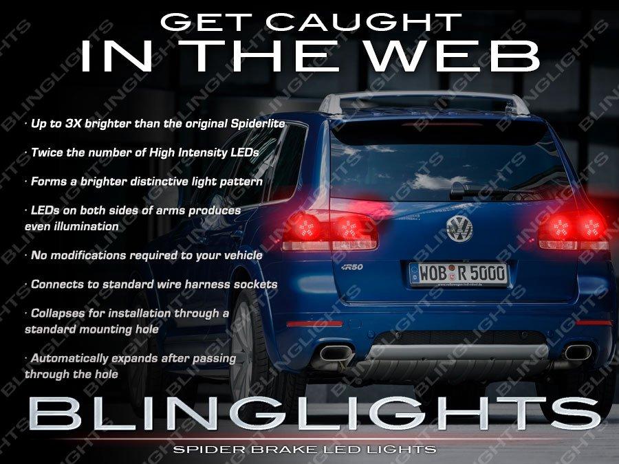VW Touareg Custom LED Tail Lamp Upgrade Replacement Light Bulbs Volkswagen