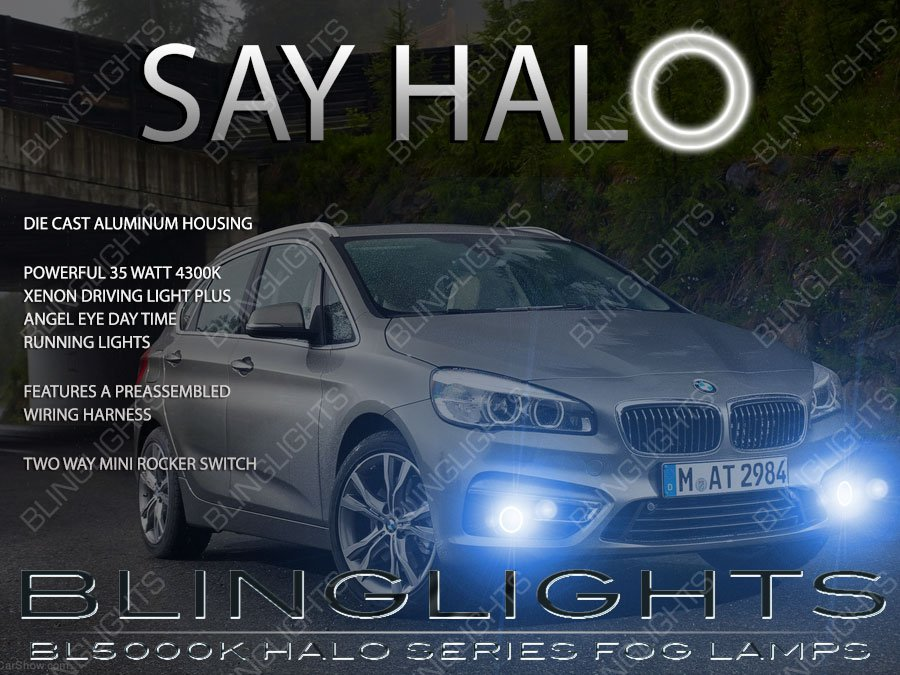 2014 2015 BMW F45 Halo Foglamp Drivinglight Kit 2 Series Active Tourer