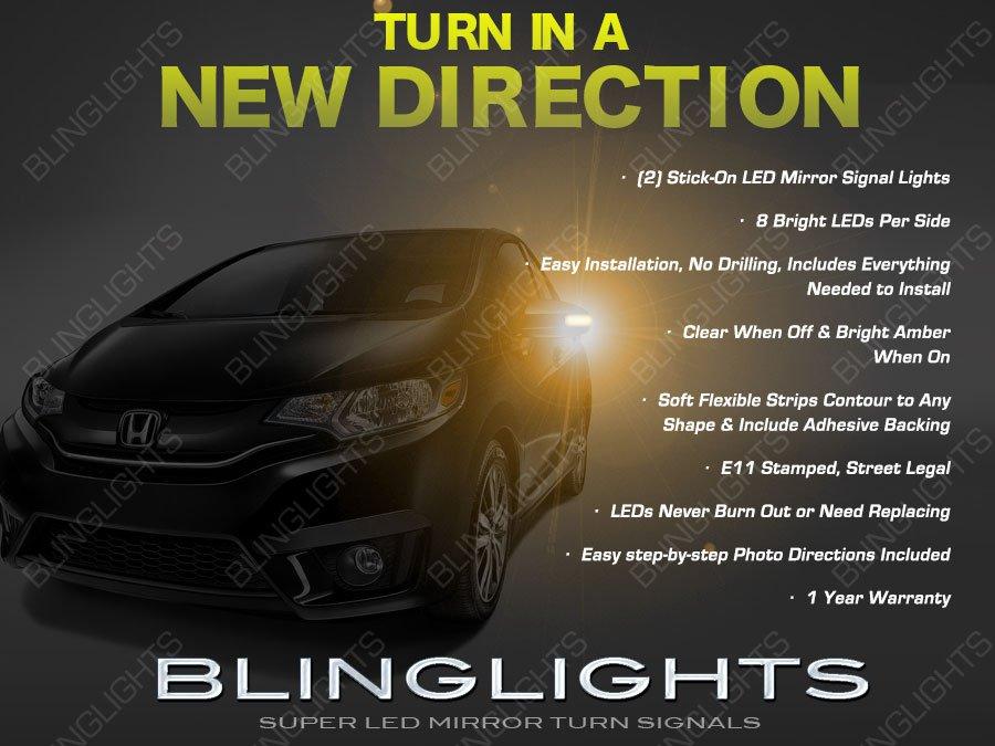 Honda Jazz LED Side Mirrors Turn Signaler Light Turnsignal Lamp Set