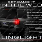 Ford Expedition White LED Tail Lamps Spider Light Bulb Set