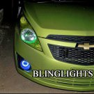 2010 2011 2012 Holden Barina Spark Halo Fog Lamps Driving Lights Kit Angel Eye