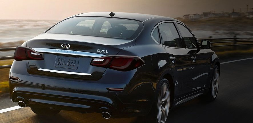 Infiniti Q70 Q70L Murdered Out Tail Light Covers Lamp Tint Overlays