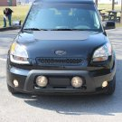 Kia Soul Bumper Lamp Bar Auxilliary Driving Lights Kit