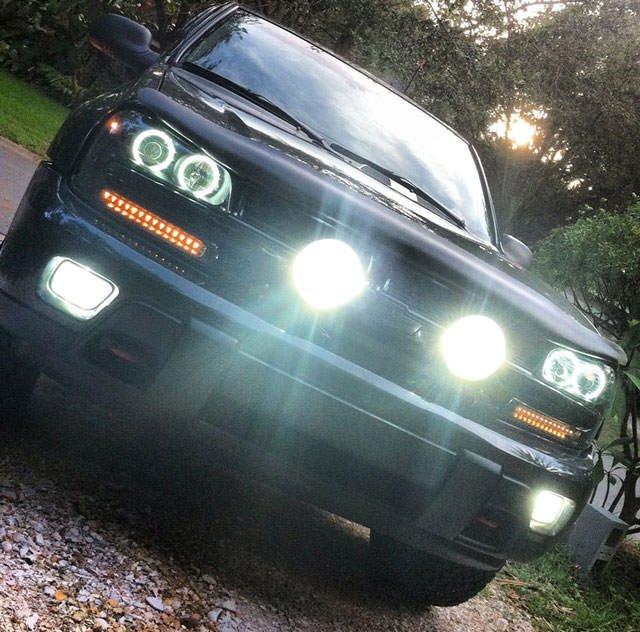 Chevrolet TrailBlazer Bumper or Light Bar Driving Lamps Kit