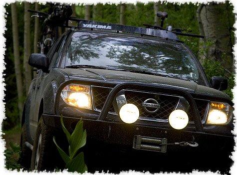 Nissan Navara Lamp Bar Auxilliary Offroad Driving Lights D22 D40 D23