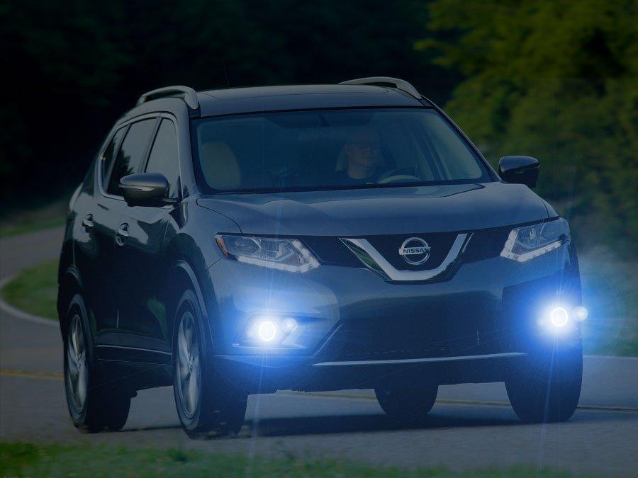 2014 2015 2016 Nissan Rogue Xenon Fog Lamps Driving Lights