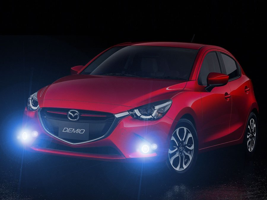 2015 2016 2017 Mazda2 Bumper Fog Lamps Lights Kit