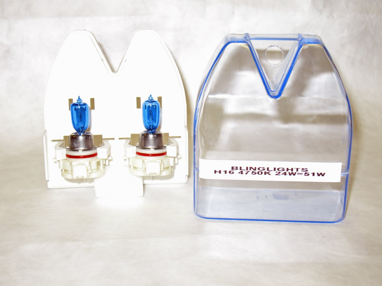 H16 9009 5202 Replacement Light Bulbs Twin Pack