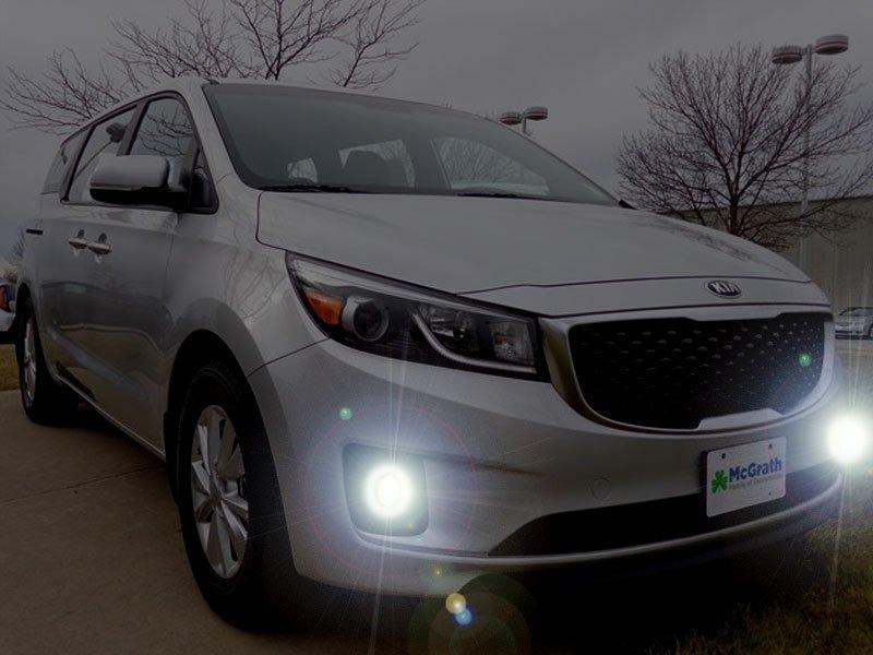 2015 2016 2017 Kia Sedona Limited Fog Lamps Driving Lights Kit