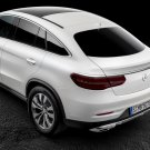 Mercedes GLE Tinted Taillamp Lense Guard Covers w166 c292