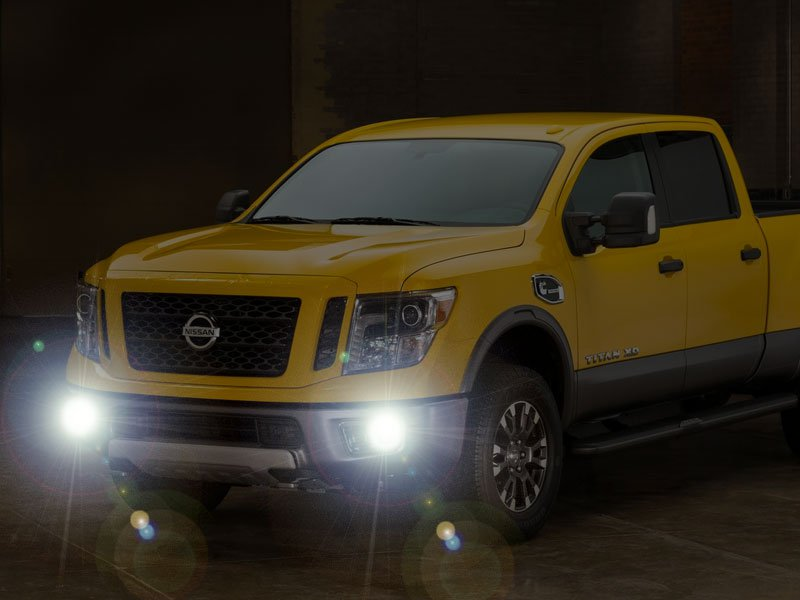 2016 2017 2018 nissan titan xd fog lamps driving lights kit. Black Bedroom Furniture Sets. Home Design Ideas