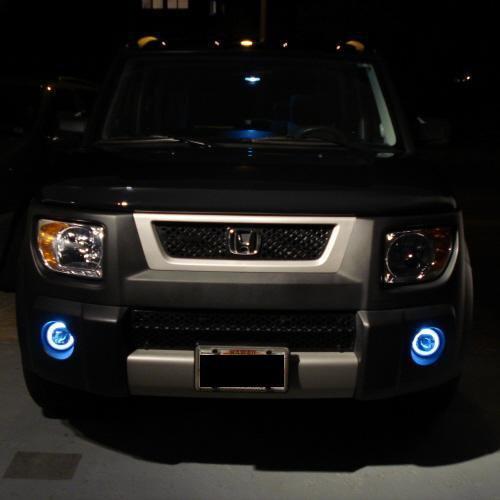 Honda Element Halo Fog Lamps Angel Eye Driving Lights Kit