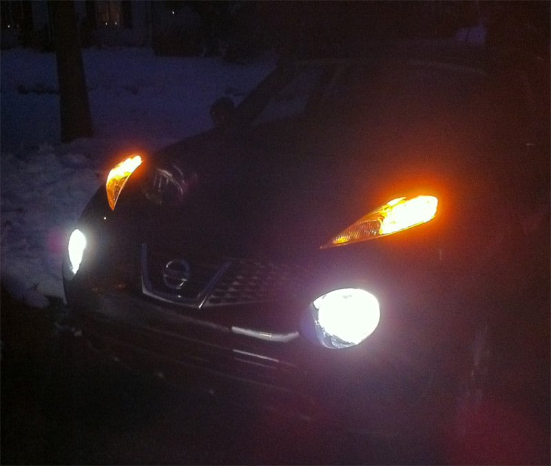 BlingLights 9006 HB4 4300K Pure White LED Light Bulbs Set of 2