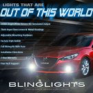 2014 2015 2016 Mazda3 Fog Lamps Driving Lights Sedan Hatchback