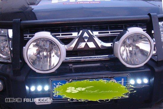 Mitsubishi Shogun PIAA LED DRL Daytime Running Lamp Kit