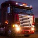 Freightliner Argosy Angel Eye Halo Bumper Driving Lamps Fog Lights