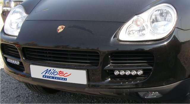 PIAA Porsche Cayenne Macan LED DRL 6000K Daytime Running Lamp Kit