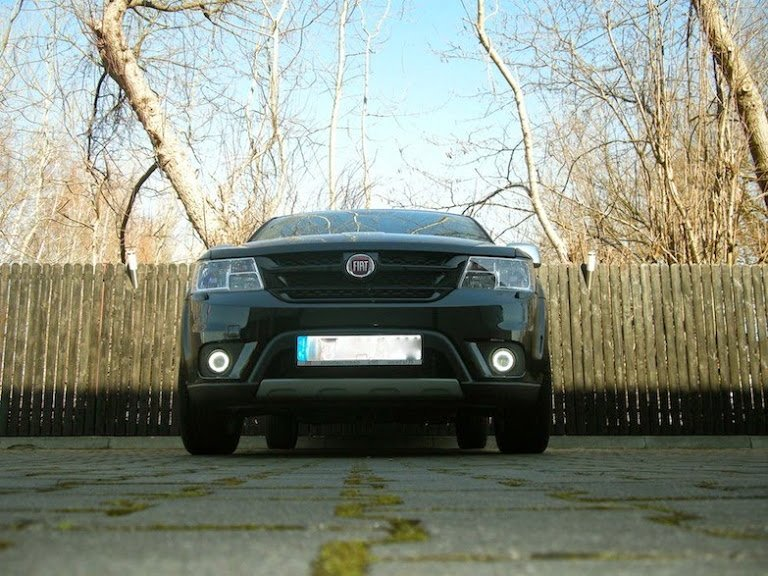 2012-2017 Fiat Freemont Halo Fog Lamps Lights Kit