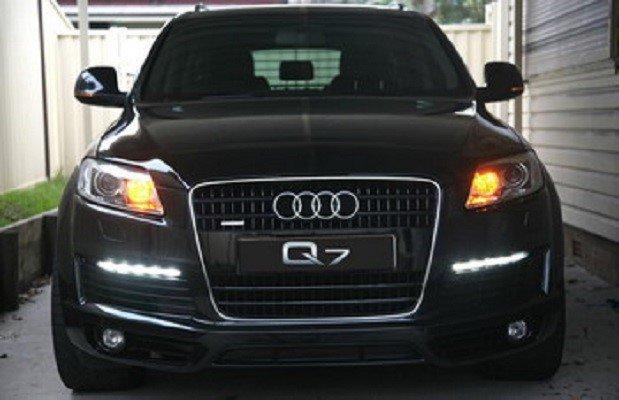 PIAA Audi Q7 Q5 Q3 Allroad LED DRL 6000K Daytime Running Lamp Kit