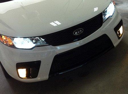H11B Xenon White 4750K Halogen Light Bulbs for Headlamps Headlights Head Lamps Lights BlingLights