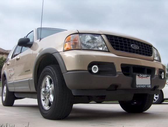2002 2003 2004 2005 Ford Explorer Halo Fog Lamps Lights
