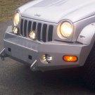 Jeep Liberty KJ KK Wincher Metal Bumper PIAA 510 Light Kit