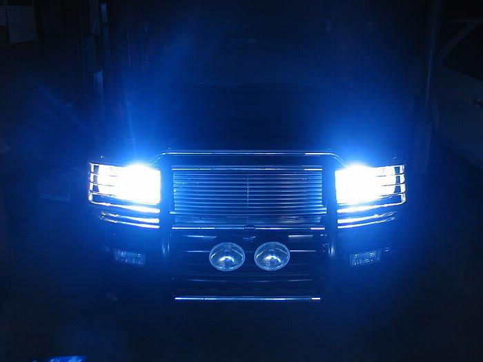9007 HB5 High Low Beam 55w Deep Blue 10000K HID Kit