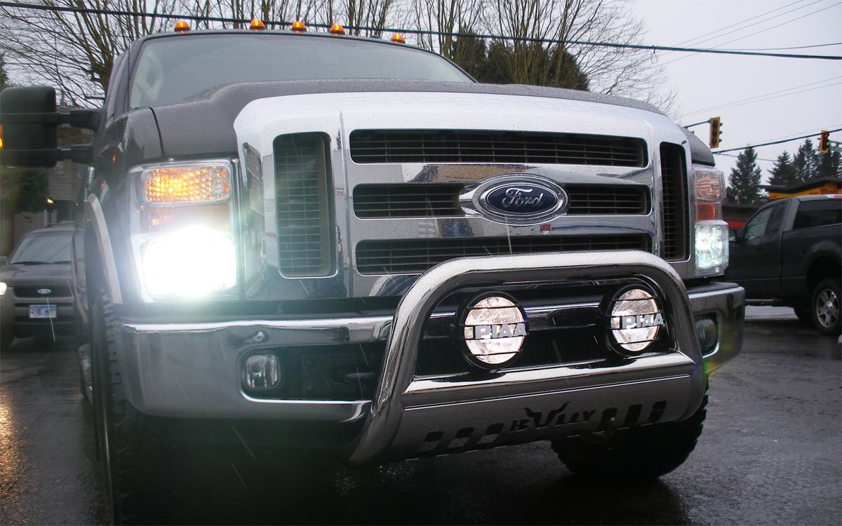 Ford Excursion Xenon HID Head Lamp Conversion Light Kit
